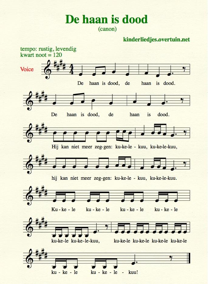 Fabulous Kinderliedjes met muziek H / wijsje liedje voor kinderen #XS94