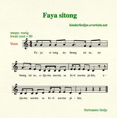 van harte gefeliciteerd in het surinaams Kinderliedjes in andere talen   anderstalige kinderliedjes, met  van harte gefeliciteerd in het surinaams