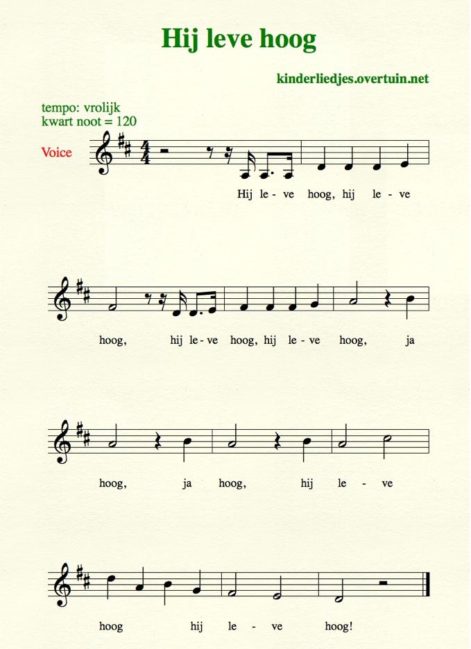 verjaardagsliedjes met tekst