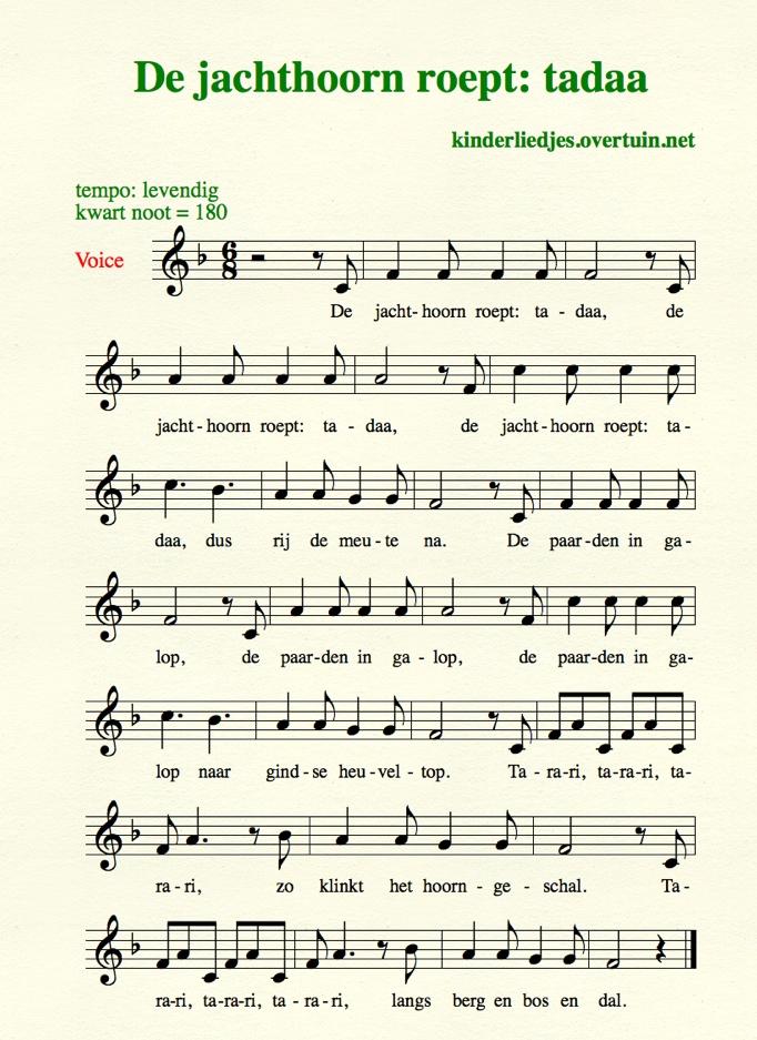 Genoeg Kinderliedjes met muziek J / wijs, bladmuziek, notenbalken &WX81