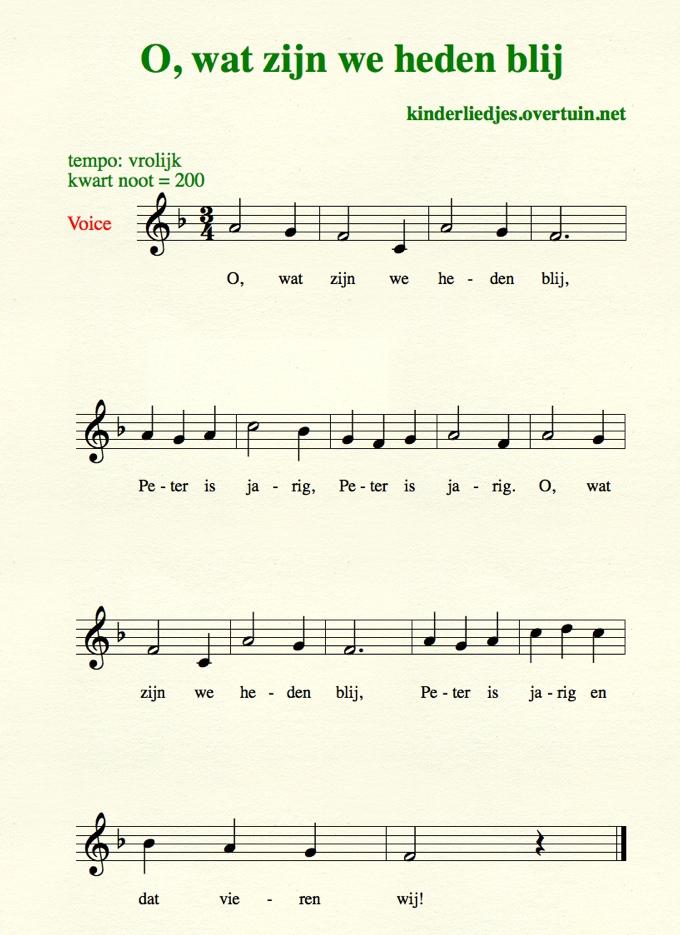 Super Verjaardagsliedjes met muziek - alle Nederlandse  XN33
