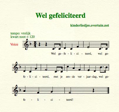 gefeliciteerd met je verjaardag song Verjaardagsliedjes met muziek   alle Nederlandse  gefeliciteerd met je verjaardag song