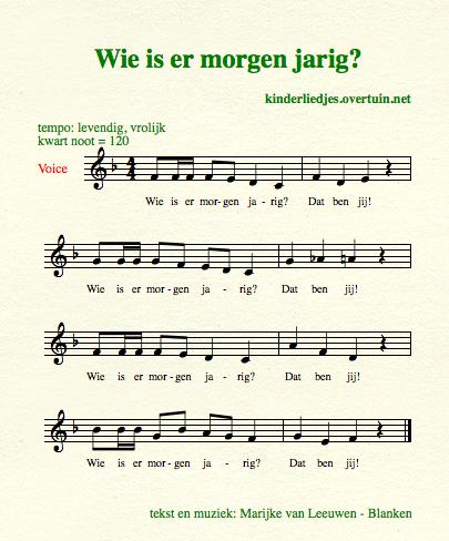 er is er een jarig muziek Verjaardagsliedjes met muziek   alle Nederlandse  er is er een jarig muziek