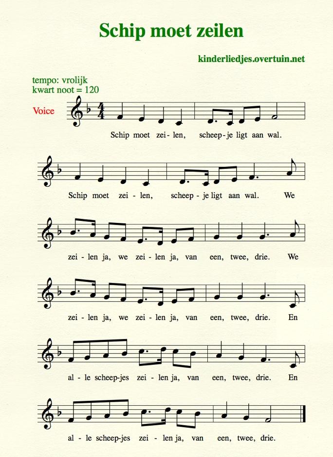 Oude kinderliedjes met tekst en muziek O S   oud hollandse liedjes uit grootmoeders tijd